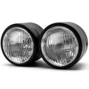 Motorcycle Twin Headlights