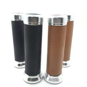 Motorcycle Leather Grips
