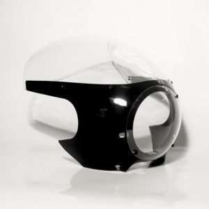 Cafe Racer Front Fairing (Black)