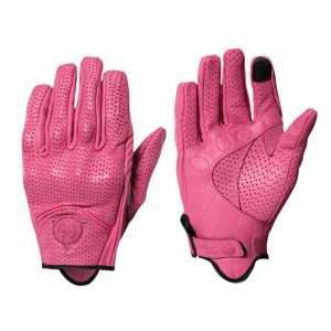 woman motorcycle gloves