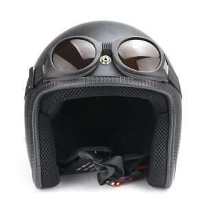 Vintage Motorcycle Helmet Goggles